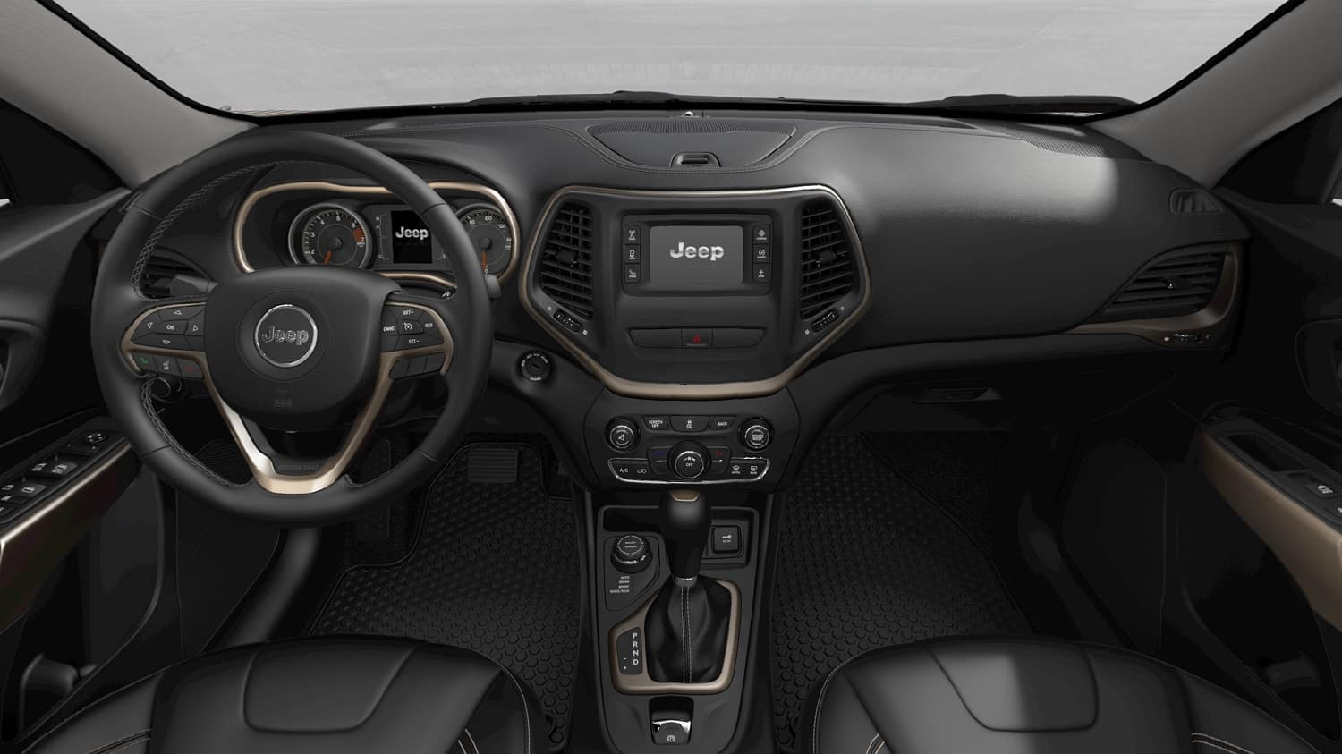 Jeep Cherokee Interior Technology Features