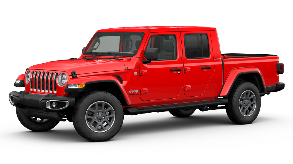 Jeep Gladiator Firecracker Red