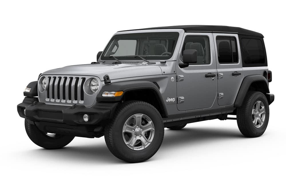 Jeep Wrangler Billet Silver Metallic Clearcoat