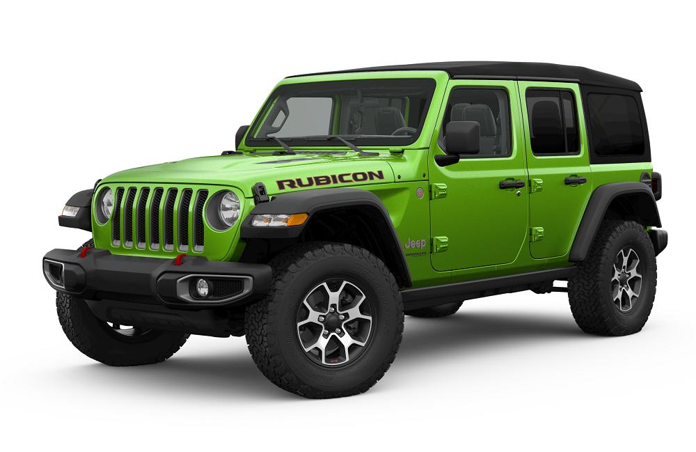 Jeep Wrangler Mojito Green