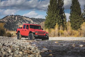 2020 Jeep Wrangler JT Gladiator Rubicon Firecracker Red