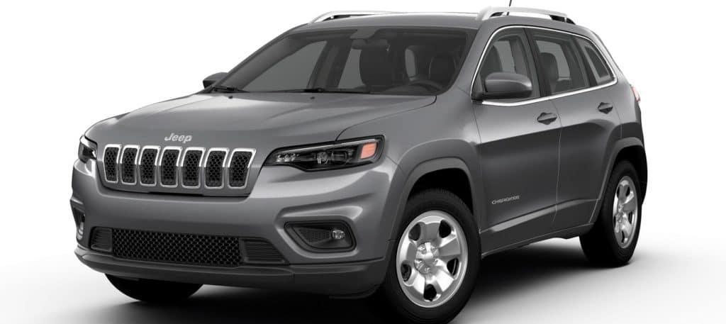 Jeep Cherokee Latitude FWD in Billet Silver Metallic