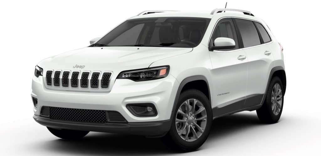 Jeep Cherokee Latitude PLUS FWD Bright White