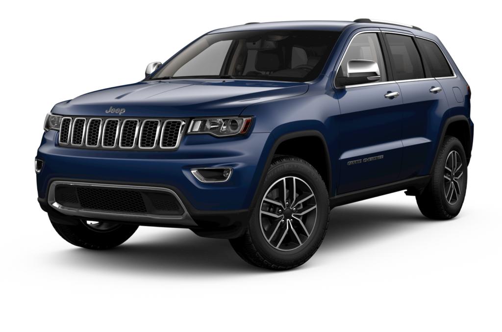 2020 Jeep Grand Cherokee Blue