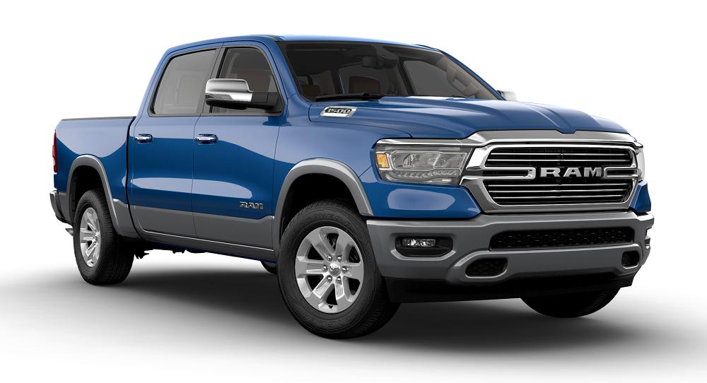 2020 Ram 1500 Blue