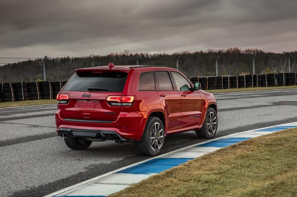 Jeep Grand Cherokee Performance Features