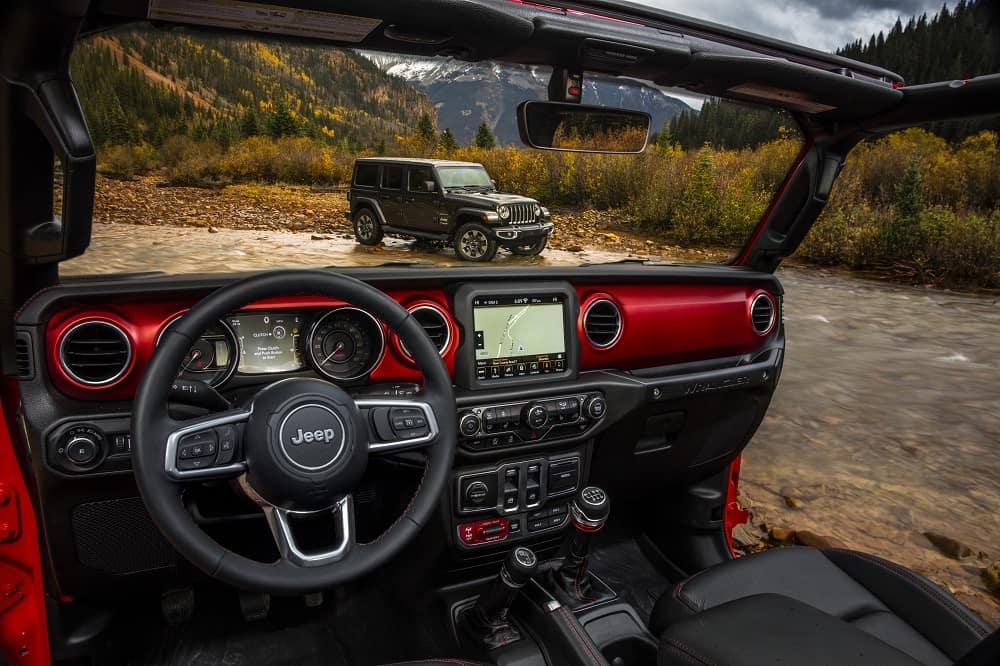 Jeep Wrangler Interior Dashboard