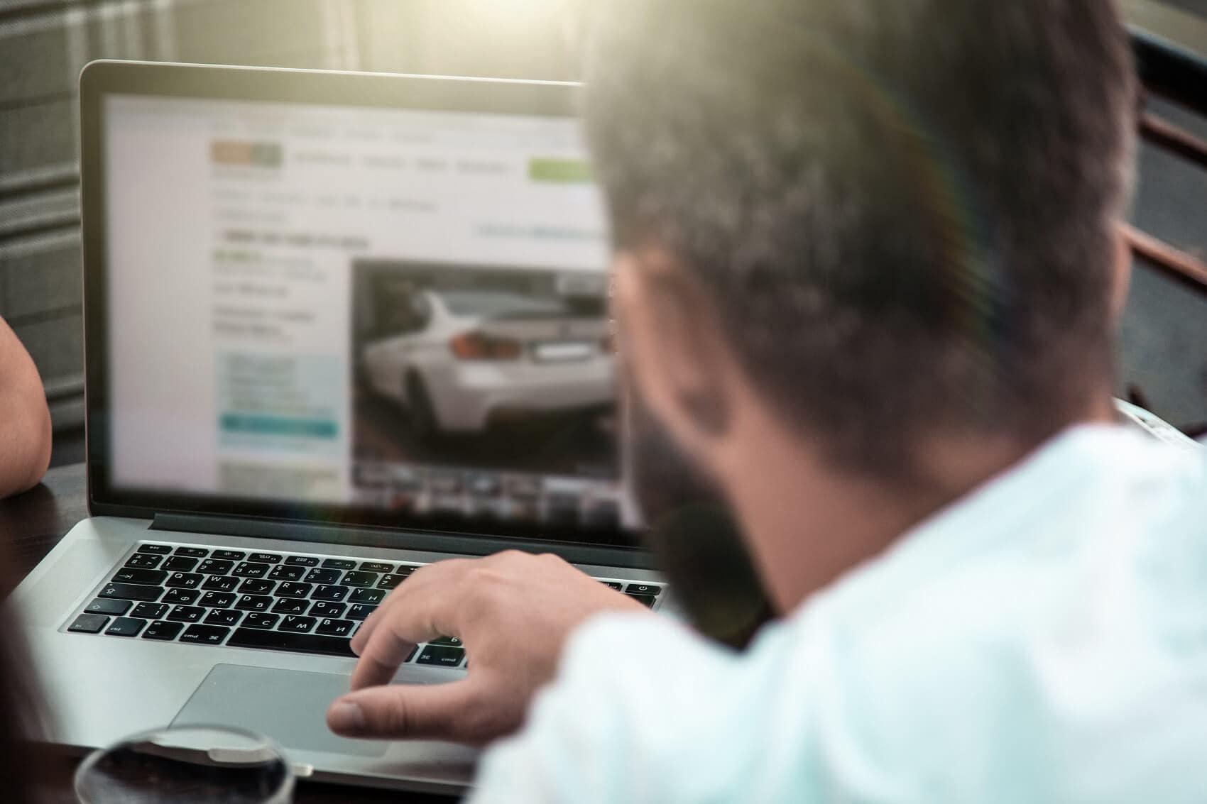 Get trade-in value online