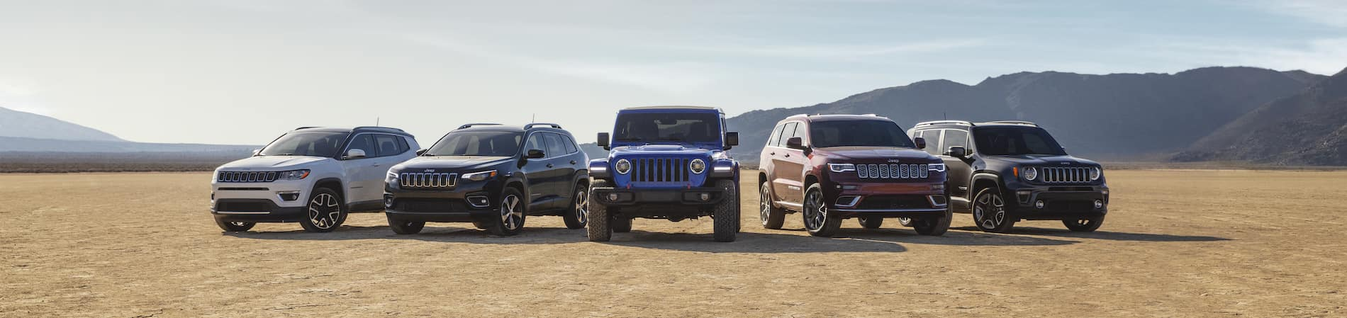Jeep Models Line Up