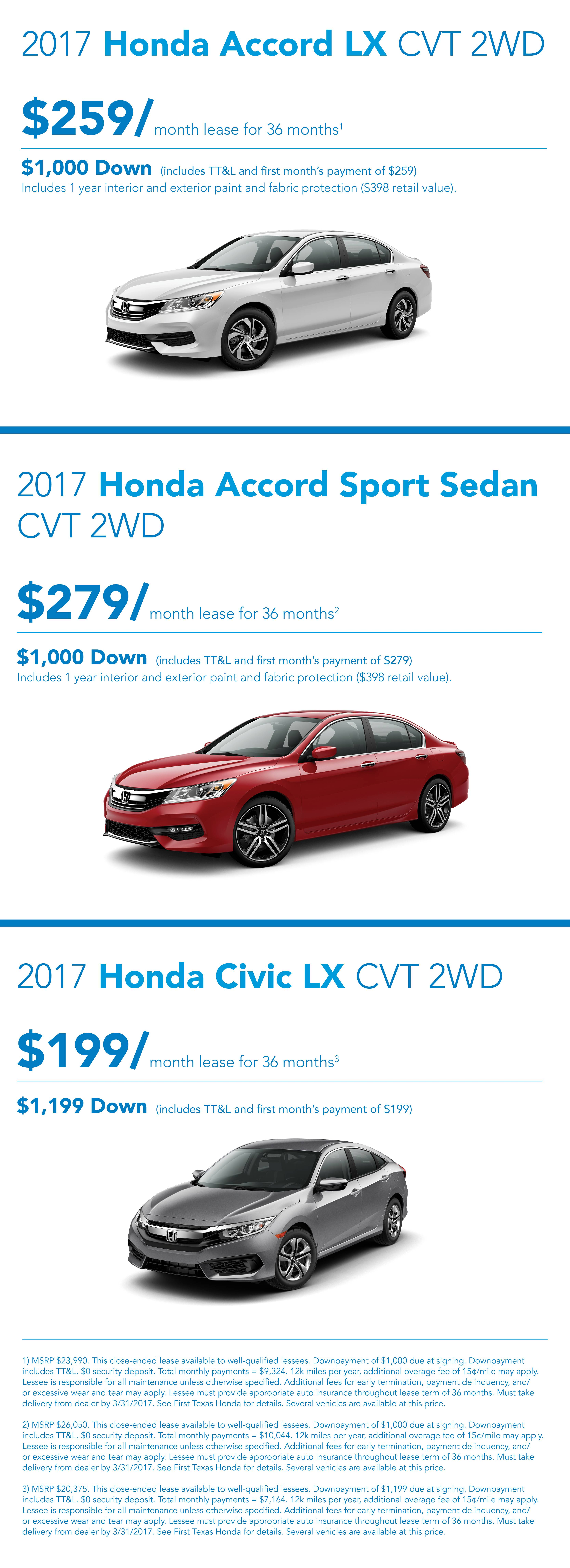 March 2017 Offers