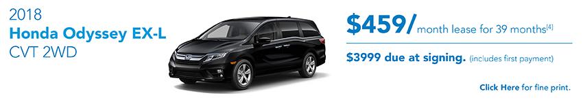 Honda Odyssey October Offer Austin