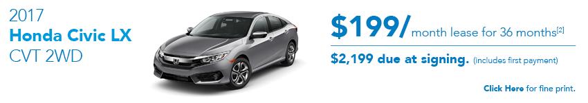 2017 Honda Civic LX Special Offer Austin
