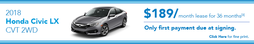 Honda Civic Lease Offer