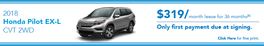 Honda Pilot Lease Offer
