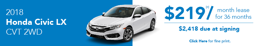 Honda Civic LX Lease Offer