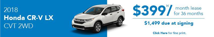 Honda CR-V Lease Offer