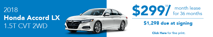 Honda Accord March Lease Offer Austin