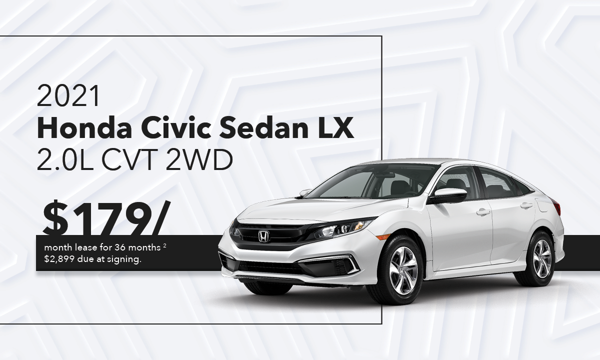 Civic Sedan LX Offer