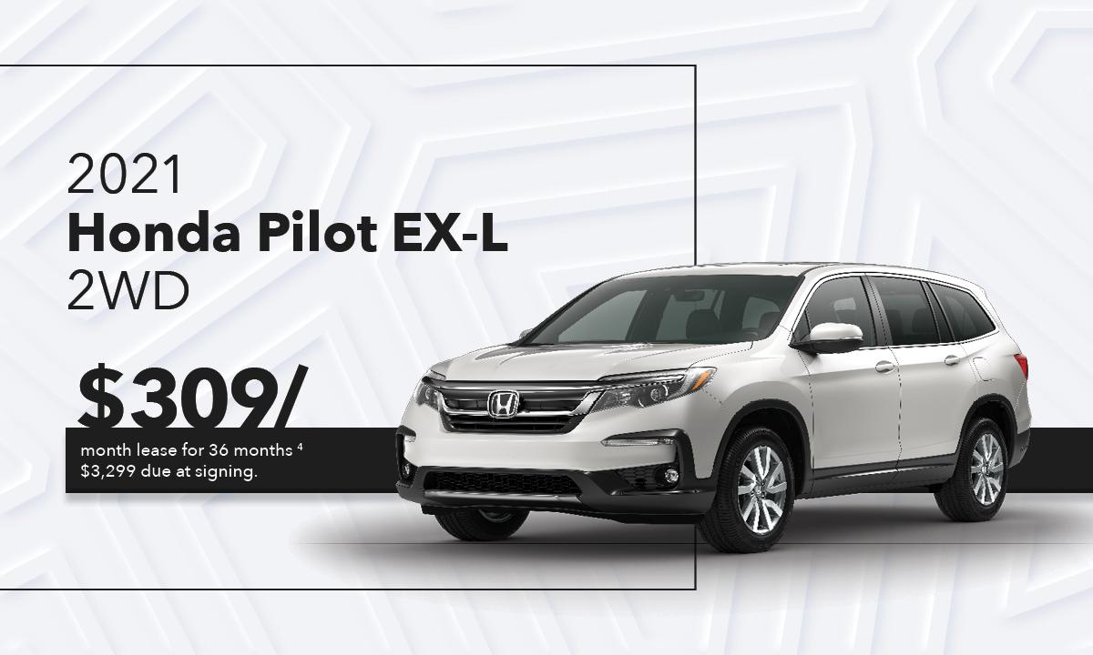 Pilot EX-L 2WD Offer