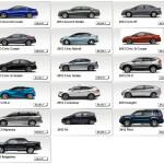2013 Honda Civic Line up