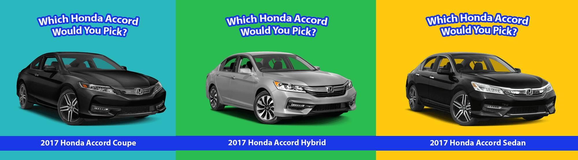 Which Accord would you pick Banner