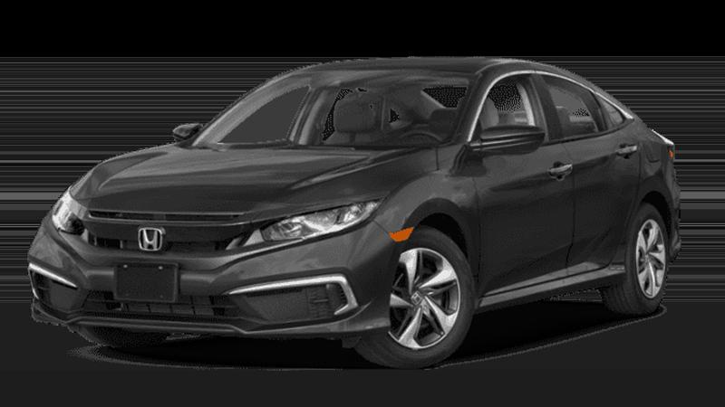 2019 Civic Sedan CVT LX