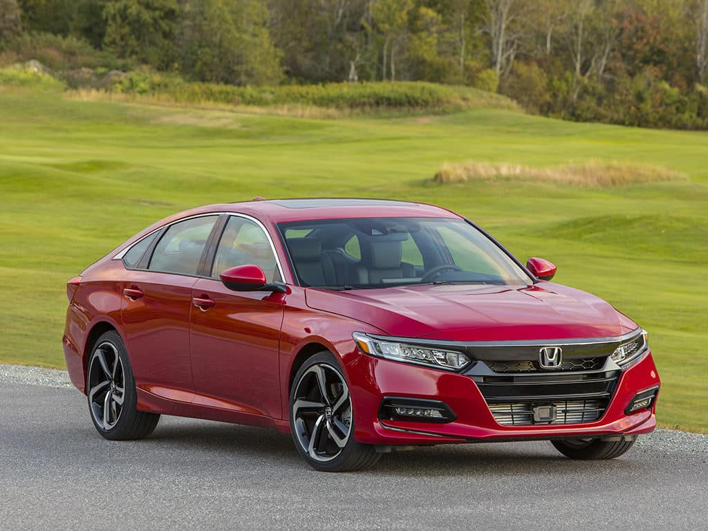 Honda accord named 2018 north american car of the year for Honda accord sport price