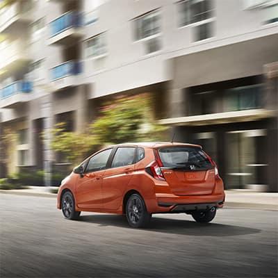 2018 Honda Fit orange fury