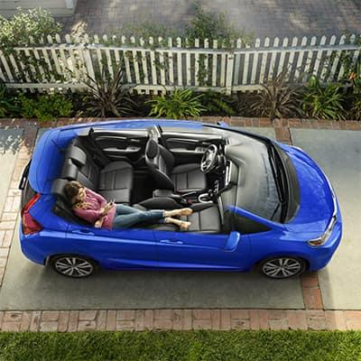 2018 Honda Fit magic seats