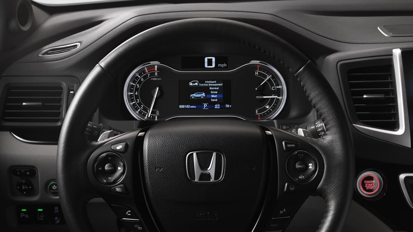 2018 Honda Pilot Safety
