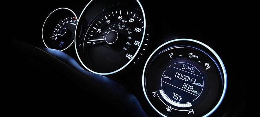 Honda HR-V gauge cluster