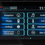 2019 Honda Civic touchscreen
