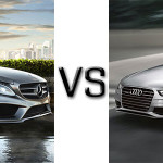 Mercedes-Benz 2015 C Class vs Audi A4