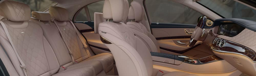 Mercedes-Benz S-Class Interior Features