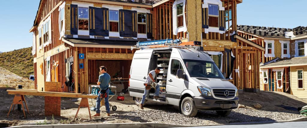 2017 Mercedes-Benz Sprinter Worker Cargo Van