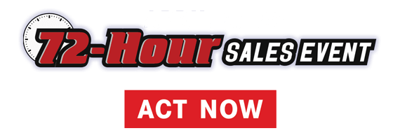 72 Hour Sales Event
