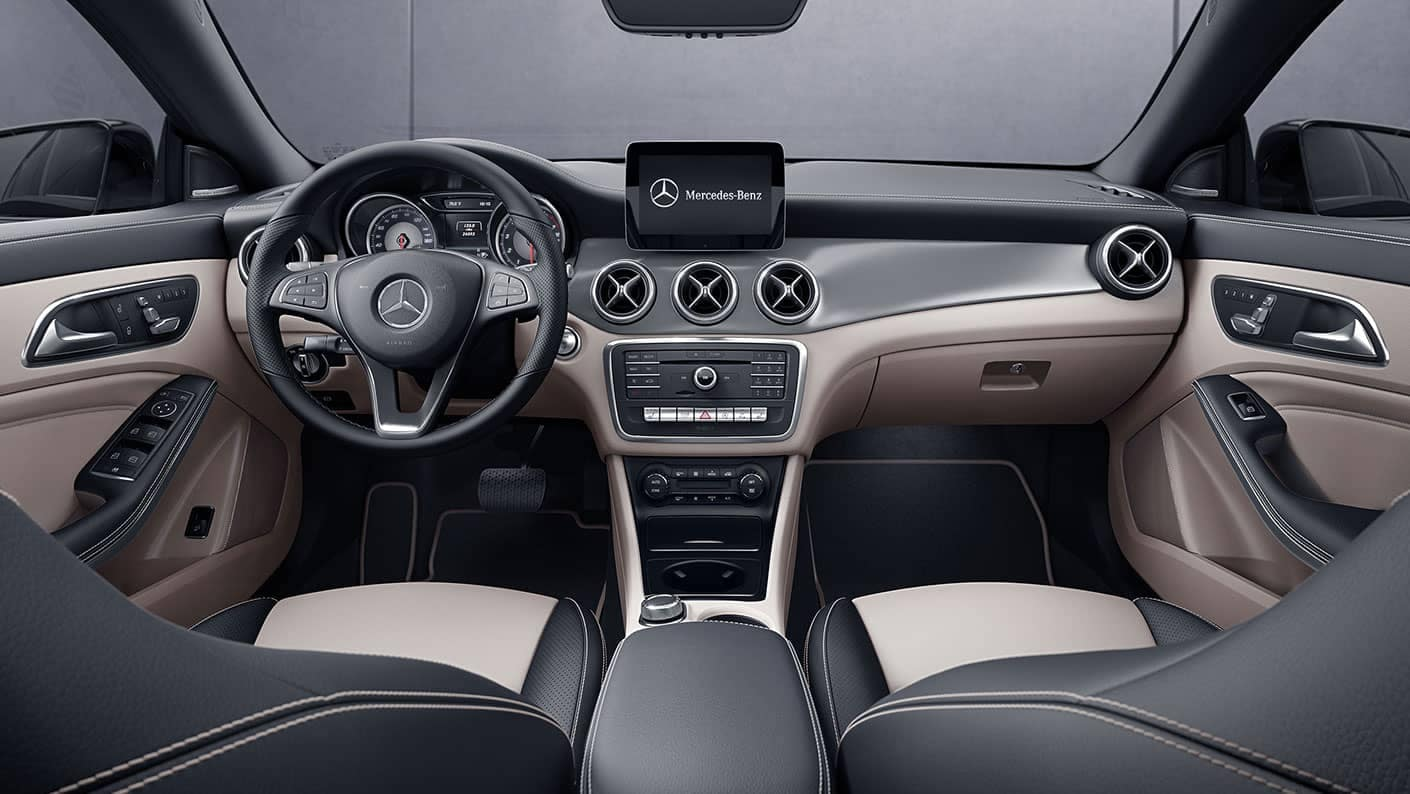 2019 CLA Coupe Interior