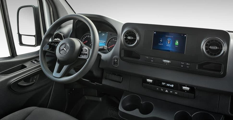 MB Sprinter Interior