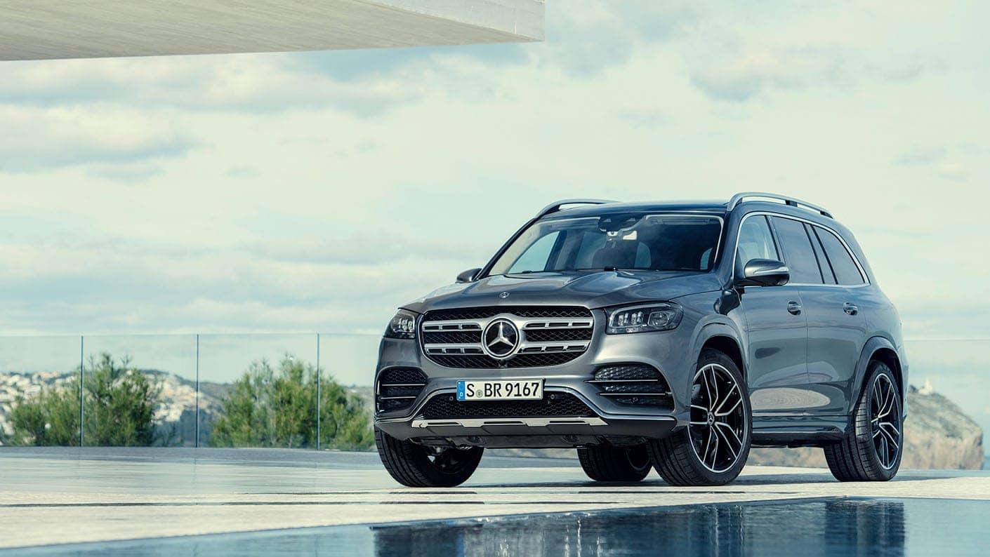 The All New 2020 Mercedes Benz Gls Suv Mercedes Benz Of