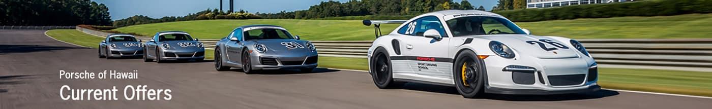Porsche of Hawaii Specials