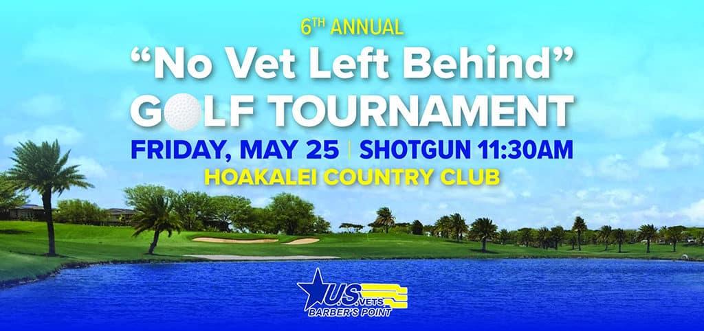 No Vet Left Behind Golf Tournament Banner