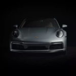 Porsche 911 Carrera S in dim lighting