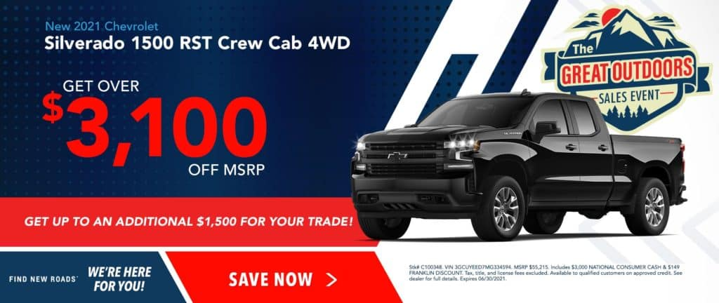 New 2021 Chevrolet Silverado 1500 RST 4WD