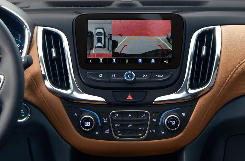 Chevrolet Equinox Rear View Camera