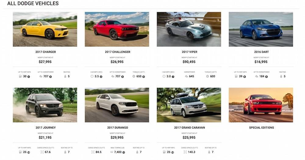 2017 Dodge Lineup Fremont Motor Company Wyoming Nebraska