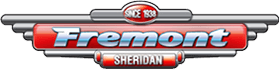 Fremont Motor Sheridan Dealership Logo