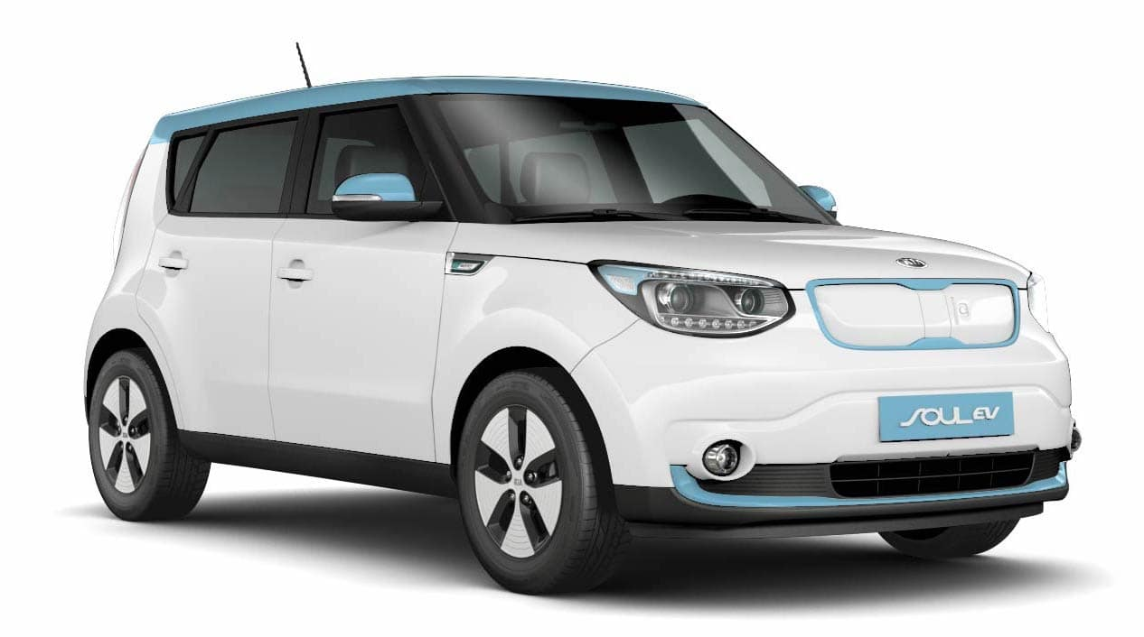 Kia Soul EV Electric Car