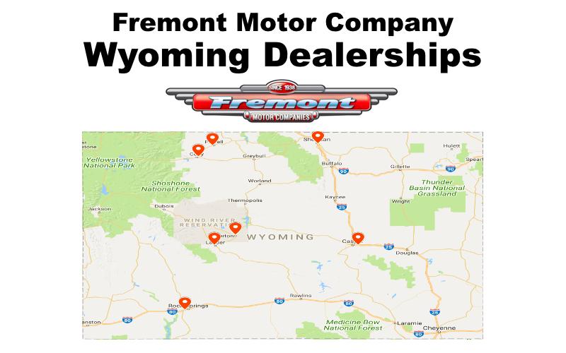 Wyoming Dealerships | Fremont Motor Company