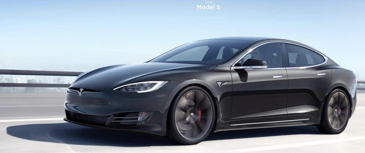Tesla Model 3 Electric Car 2019 Black