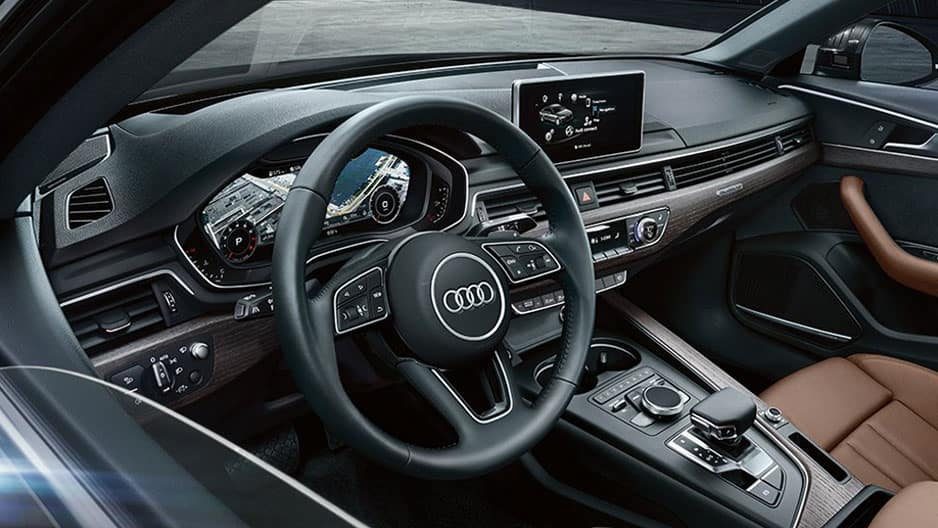 Interior Features of the New Audi A4 at Garber in Rochester, NY